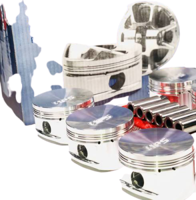 JE Pistons For Tb4.8 Nissan turbo 50 Low -20(bore 3.937)