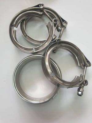 STAINLESS STEEL V BAND KIT 4 INCHES