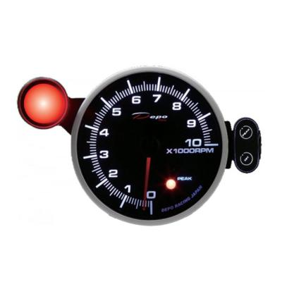Depo Racing Gauge RPM - 95MM - Double Color
